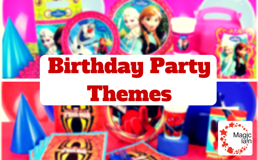 Theme Your Party Decorations