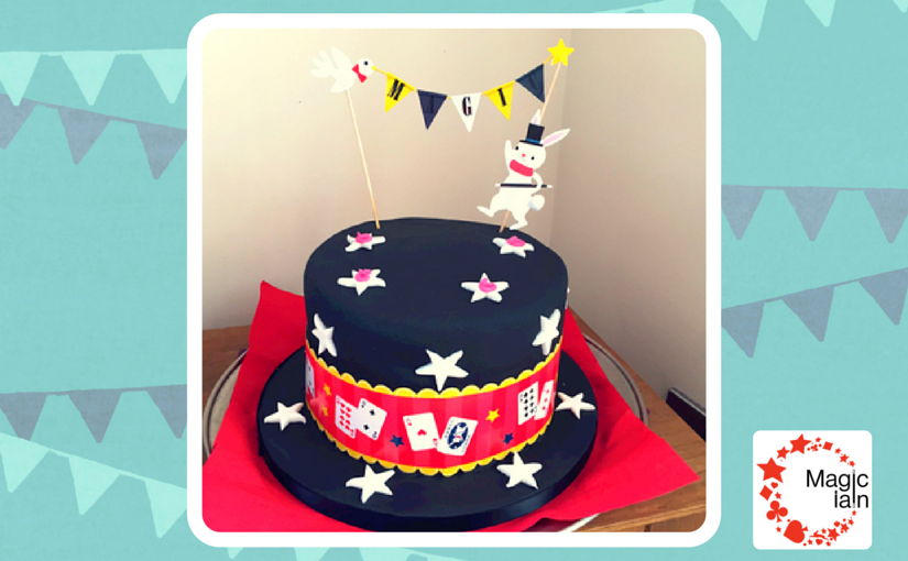 A Magic Hat Birthday Cake!